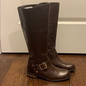 Brown Vince Camuto Riding Boots- never worn